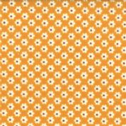 Moda Boho by Urban Chicks - 2573 -  Pumpkin Ditzy Floral 100% Cotton Fabric 31091-12
